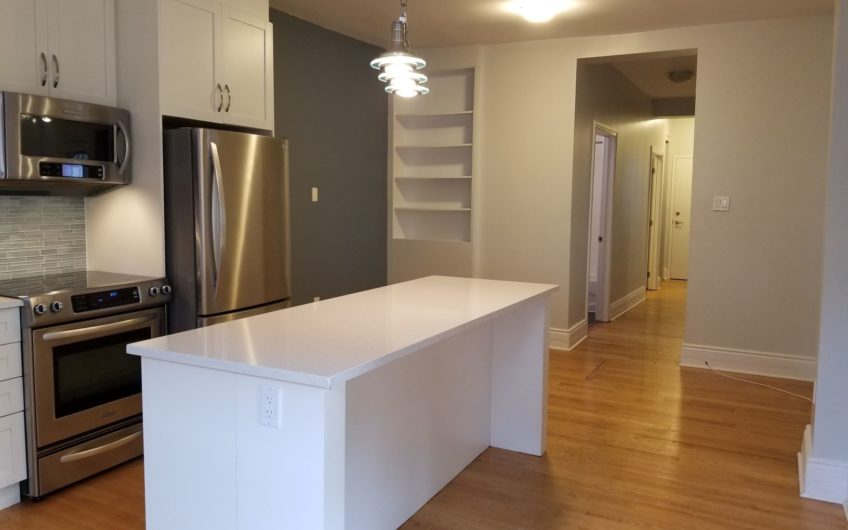Renovated 2 – Bedroom Apartment